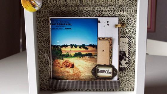 Un cadre album photo déco RIBBA