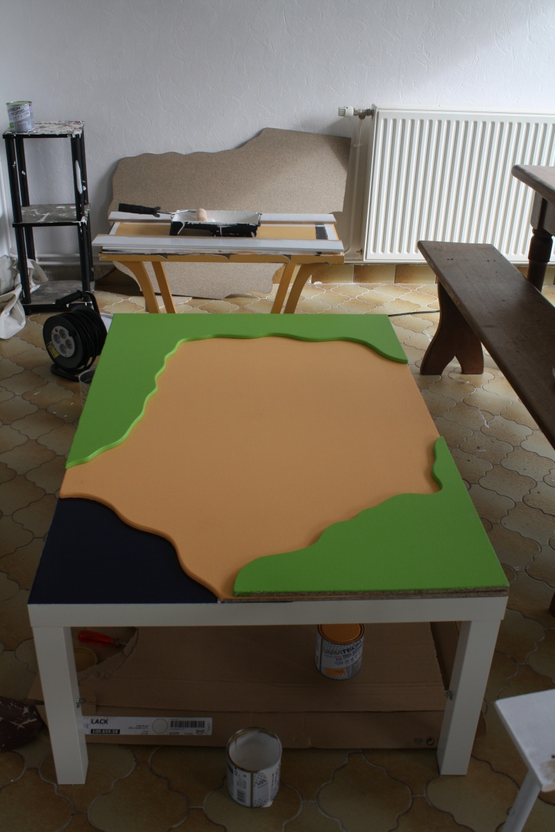Construire une table de chevet maison design - Construire une table de chevet ...
