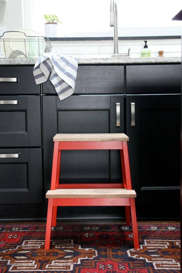 marche pied bekvam restyl. Black Bedroom Furniture Sets. Home Design Ideas