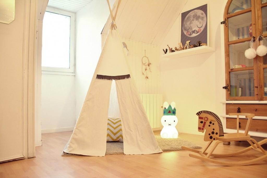 fabriquer un tipi pour enfant. Black Bedroom Furniture Sets. Home Design Ideas