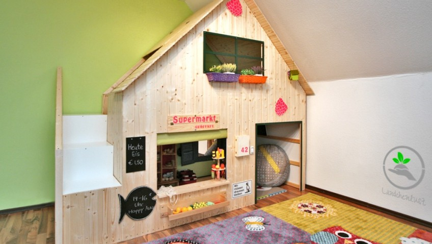 une cabane diy pour nos enfants. Black Bedroom Furniture Sets. Home Design Ideas