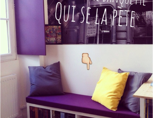 une banquette diy avec kallax. Black Bedroom Furniture Sets. Home Design Ideas