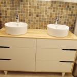 meuble de salle de bain double vasque Ikea
