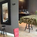 une verri re miroir avec ikea bidouilles ikea. Black Bedroom Furniture Sets. Home Design Ideas