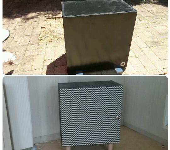 Placard de cuisine ikea transform en petit meuble de - Petit meuble de cuisine ikea ...
