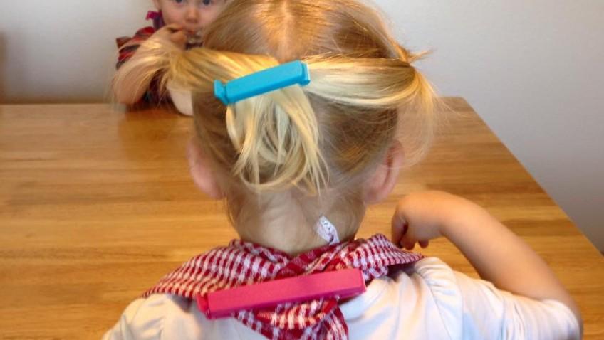 clip IKEA cheveux
