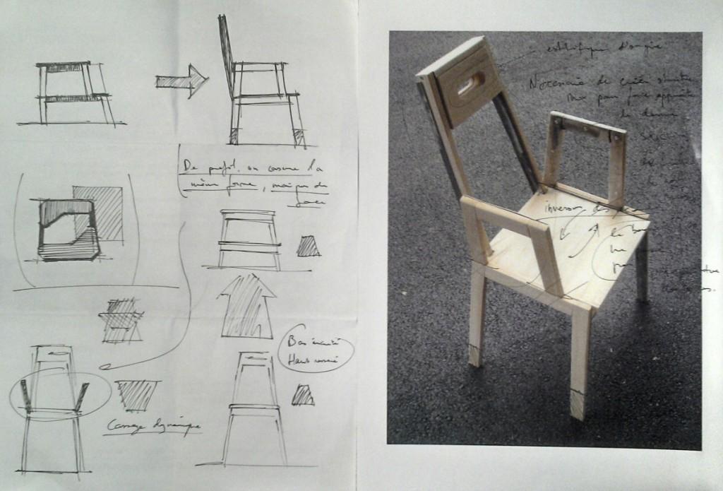 chaise bekvam