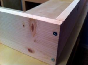 Lit avec rangement avec kallax ou expedit bidouilles ikea - Fabriquer son lit en bois ...