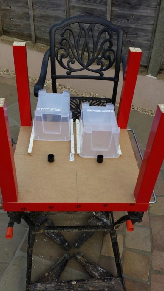 Table Lego Ikea Avec Espace De Stockage