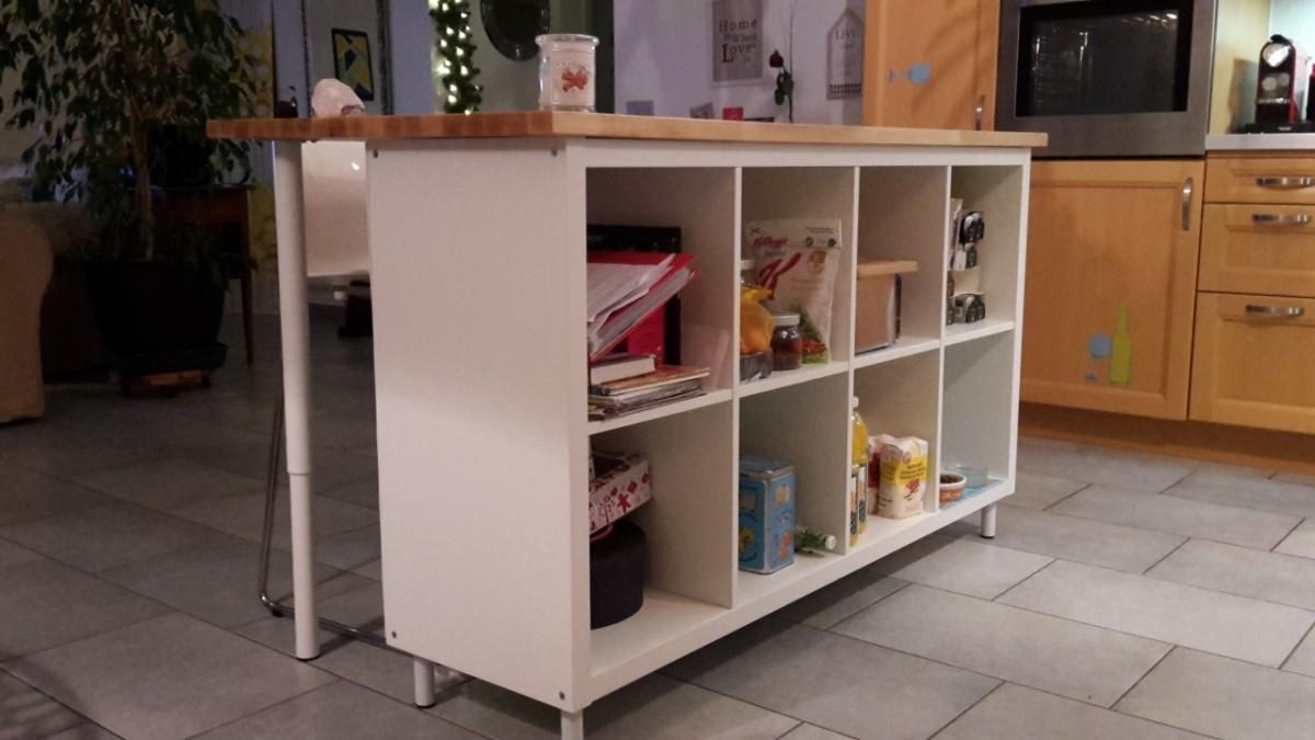 Sehr Ilot de cuisine pas cher - Bidouilles IKEA NT84