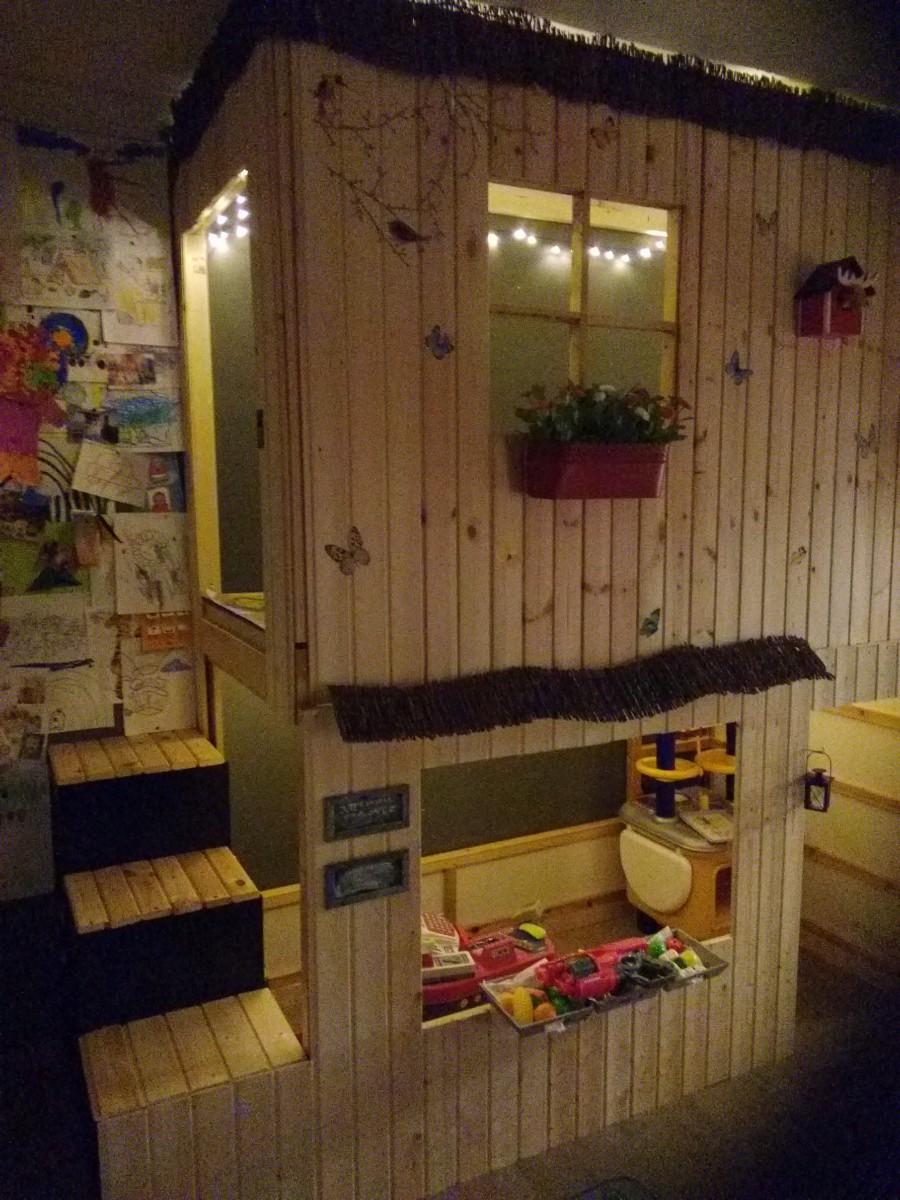 lit cabane kura   etages