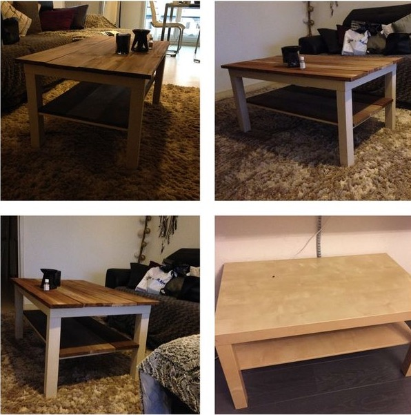 relooking table lack with repeindre table basse ikea. Black Bedroom Furniture Sets. Home Design Ideas