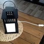 lampe électrique photophore lanterne ikea
