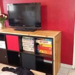 meuble tele kallax
