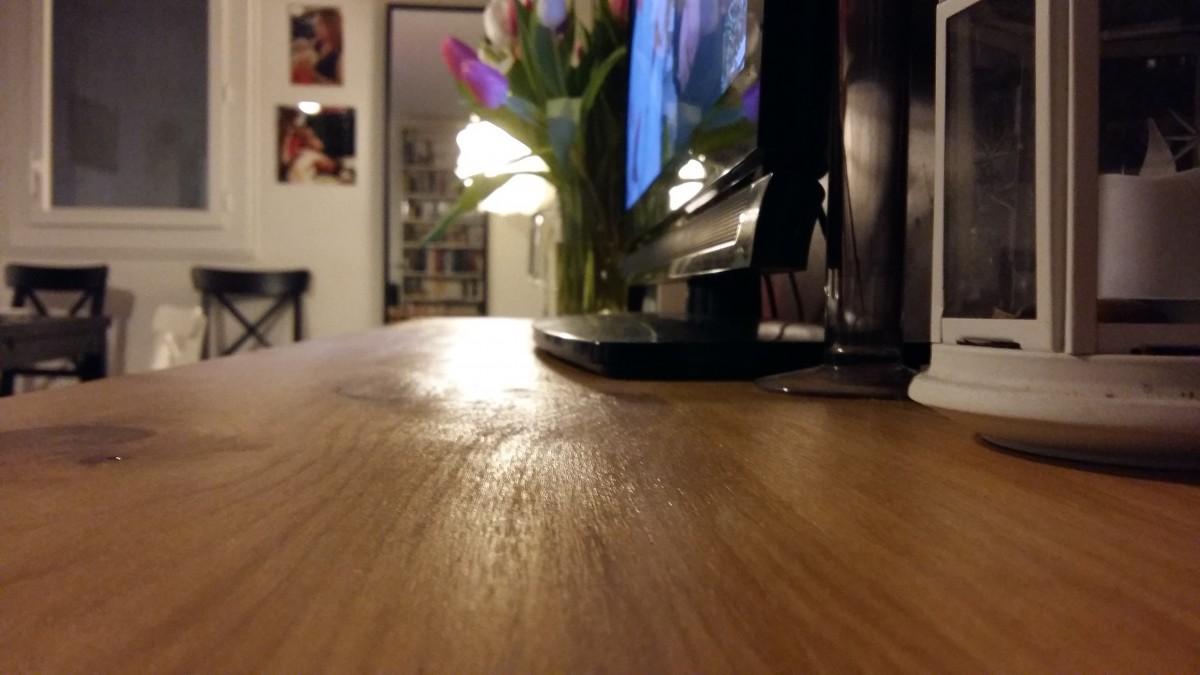 meuble tv bois kallax