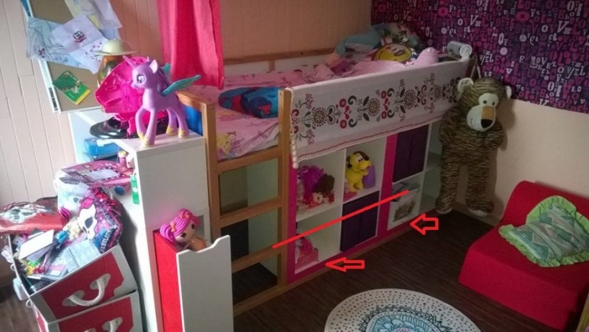 id es d co et diy chambre b b et enfant bidouilles ikea. Black Bedroom Furniture Sets. Home Design Ideas