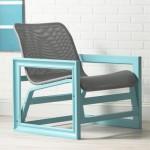Un fauteuil-cadre photo haut en couleur