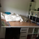 lit estrade rangement