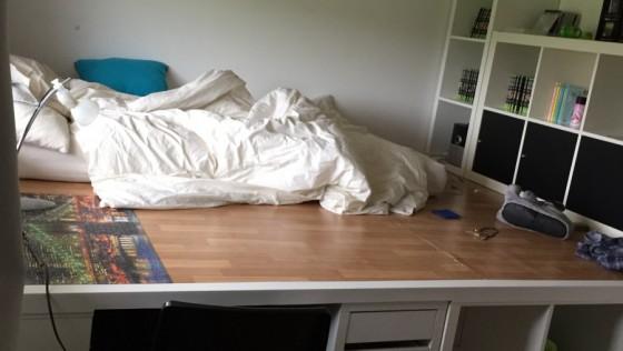 Un incroyable lit estrade pour chambre d'ado