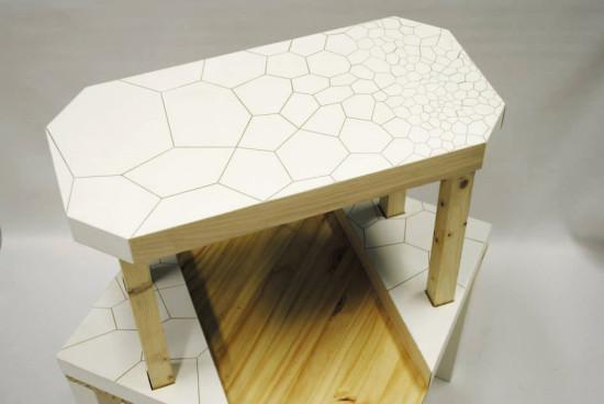 table surélevée