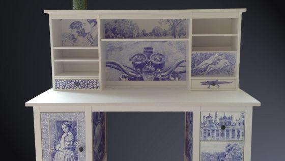 Le dragon et l'oiseau : une création originale à base d'Ikea !