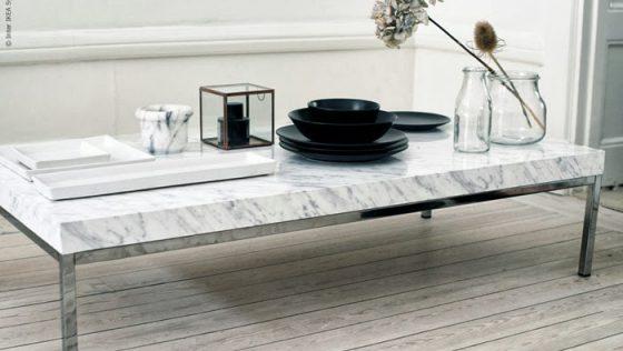 Une superbe table basse en marbre pour seulement 70 euros !