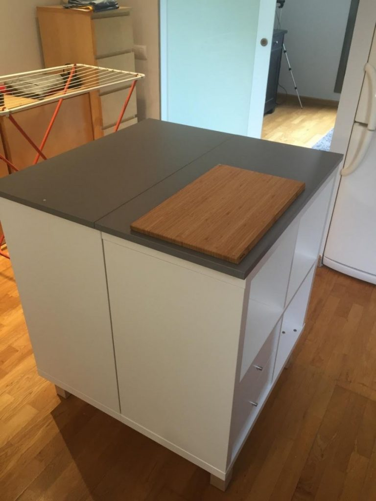 Ilot central ikea qui fait table maison design - Ilot central cuisine fly ...