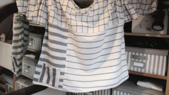 La chemise en torchons de cuisine