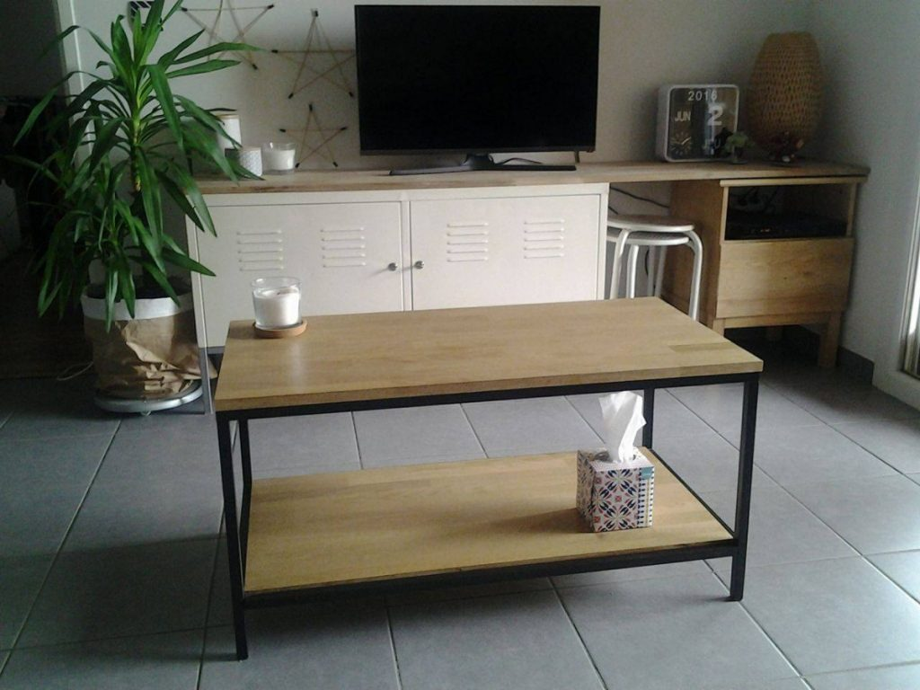 table basse indus