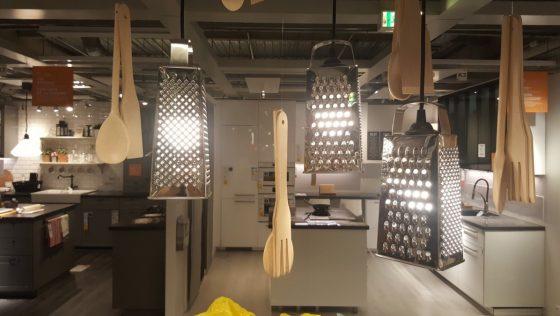 Une suspension de cuisine ikea DIY très originale pour moins de 10€ !