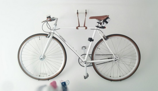 Porte v lo diy pour ranger son v lo facilement for Meuble porte velo