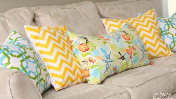 Réhaussez votre intérieur avec de beaux oreillers DIY