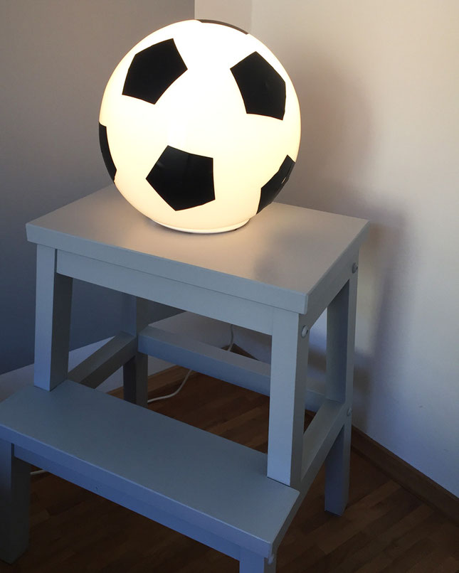 lampe ikea fado football