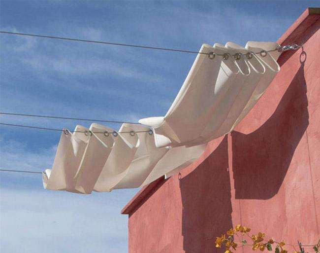 Magnifique tonnelle diy pour terrasse ext rieure bidouilles ikea - Tonnelle pour terrasse ...