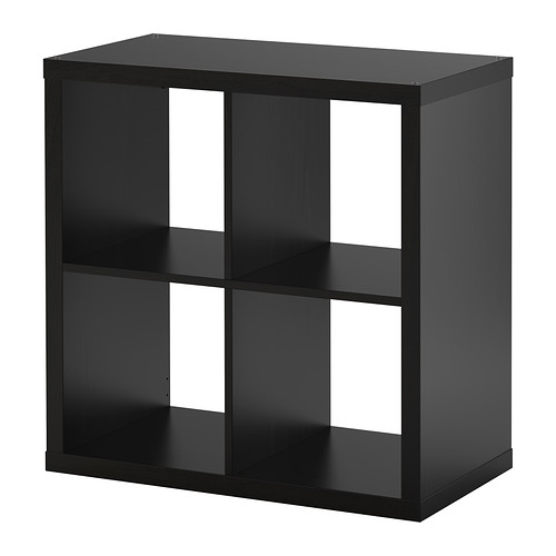 kallax shelf unit brown