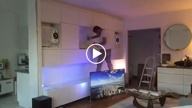 vid o timelapse comment cr er un mur multim dia. Black Bedroom Furniture Sets. Home Design Ideas