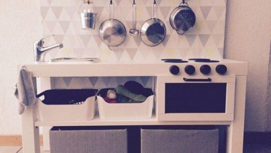 Une kitchenette pour mon fils de 2 ans