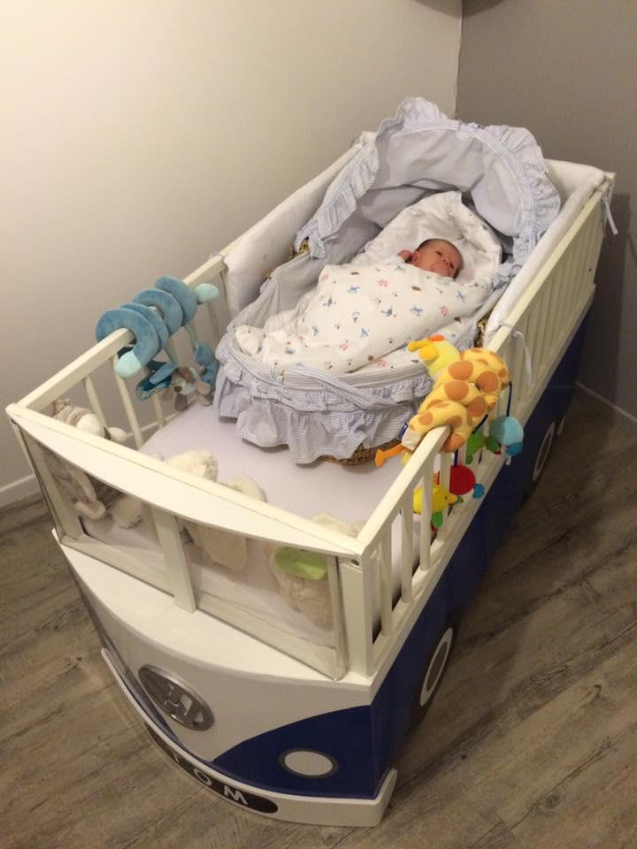 lit bébé volkswagen