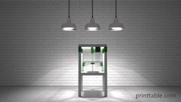 Une Structure d'Imprimante 3D du plus bel effet