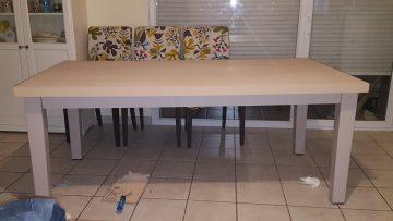 Bidouilles ikea customisation transformation et diy Faire table cuisine avec deux meubles ikea