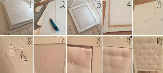 DIY headboard for IKEA HENSVIK crib - Instructions