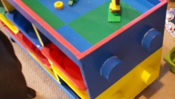 D'un TROFAST à une table LEGO en un weekend