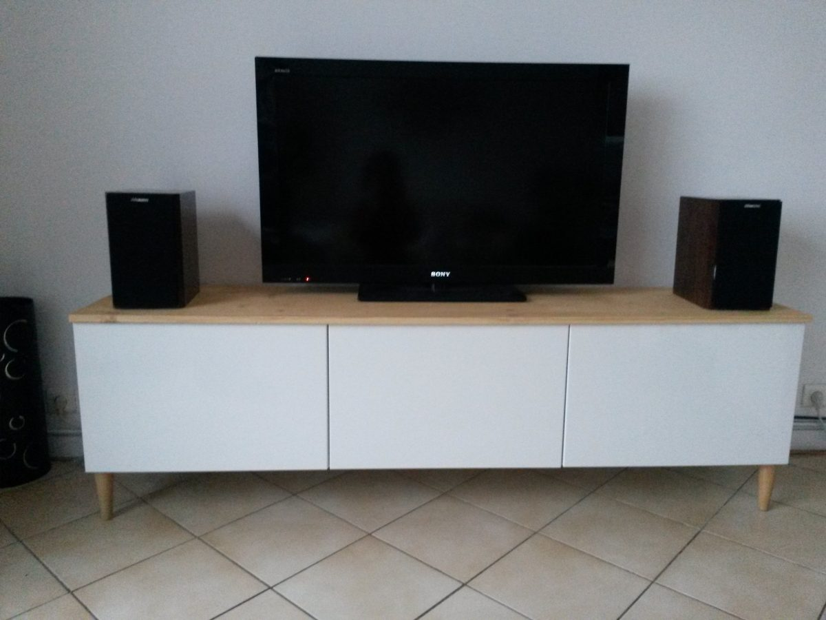 Meuble tv grand format ikea sammlung von for Meuble tv petit format