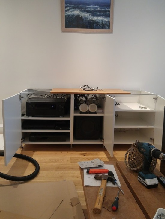 4-ikea metod TV unit