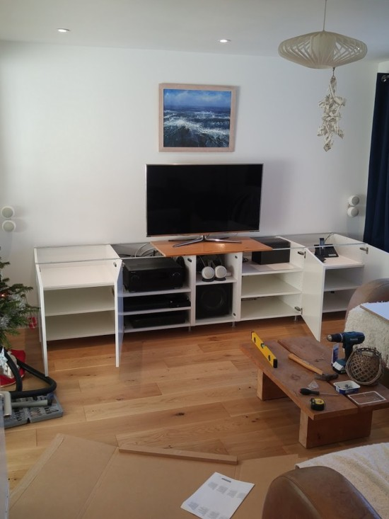 5-ikea metod TV unit