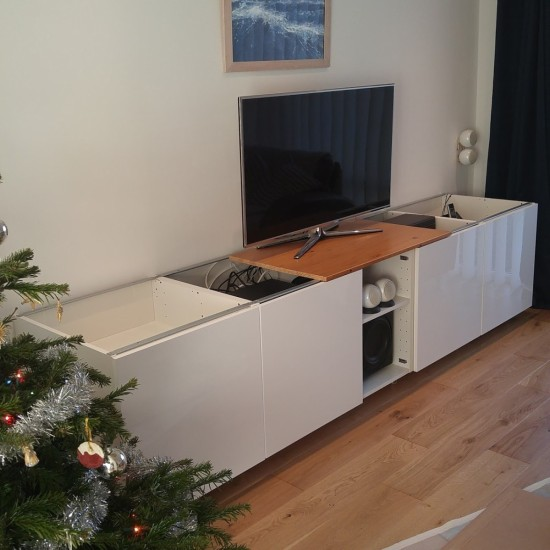 6-ikea metod TV unit
