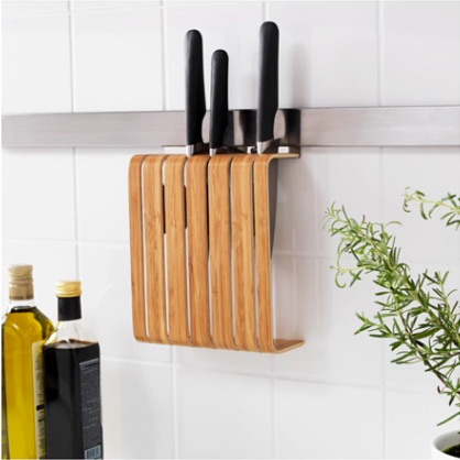 IKEA rimforsa knife holder