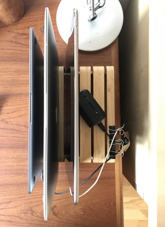 IKEA Rimforsa DIY Bamboo Tablet + Laptop holder