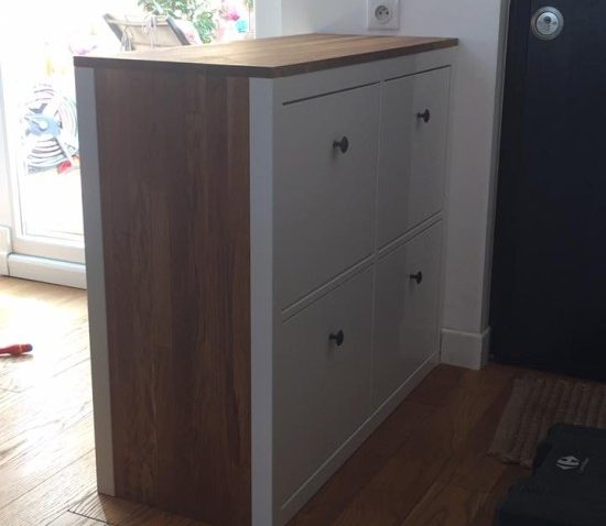 À Hemnes Rangement Face Chaussures Double ynw8vmN0O