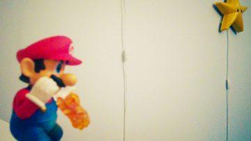 Fabriquez votre applique étoile Super Mario Bros !